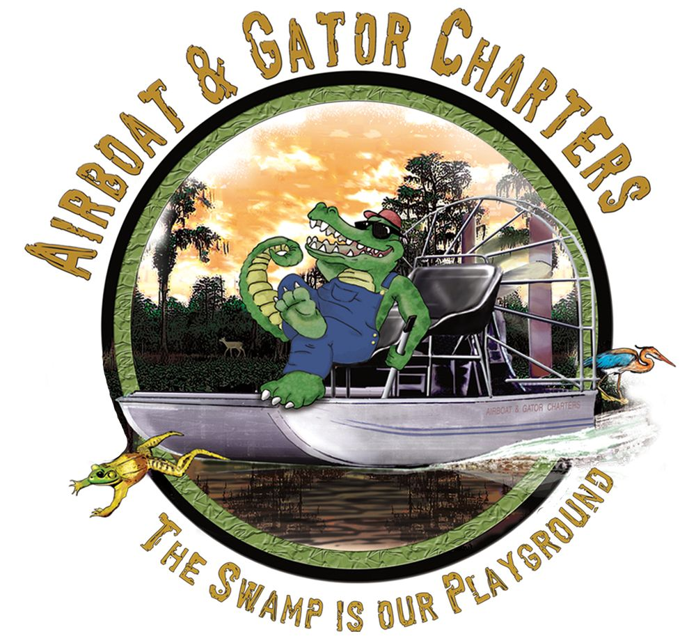 Airboat and Gator Charters: 760 Tedders Ct, Deleon Springs, FL