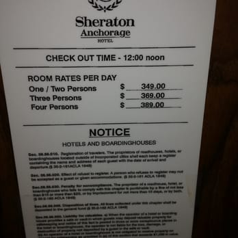 Photo Of Sheraton Anchorage Hotel Spa Ak United States 300