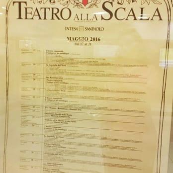 Calendario Teatro Alla Scala.Teatro Alla Scala Opera Ballet Via Filodrammatici 2