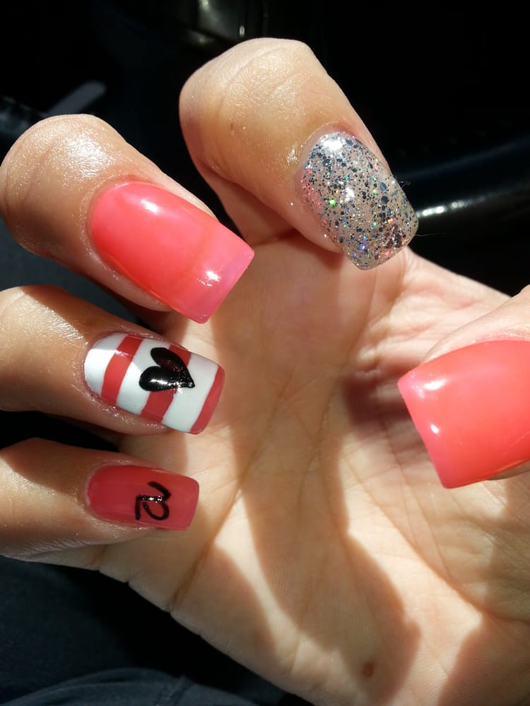 Gel design done by kim absolutely love them shes the for Bb spa