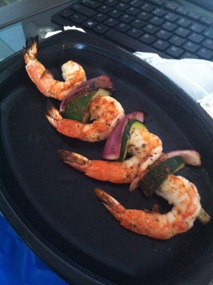 Shrimp skewer yelp for Malibu fish grill