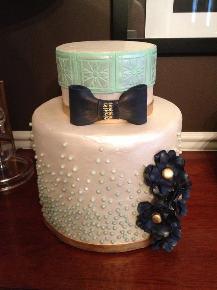 Photo Of Cakery Bakery   Knoxville, TN, United States. Bowtie And Pearl  Wedding
