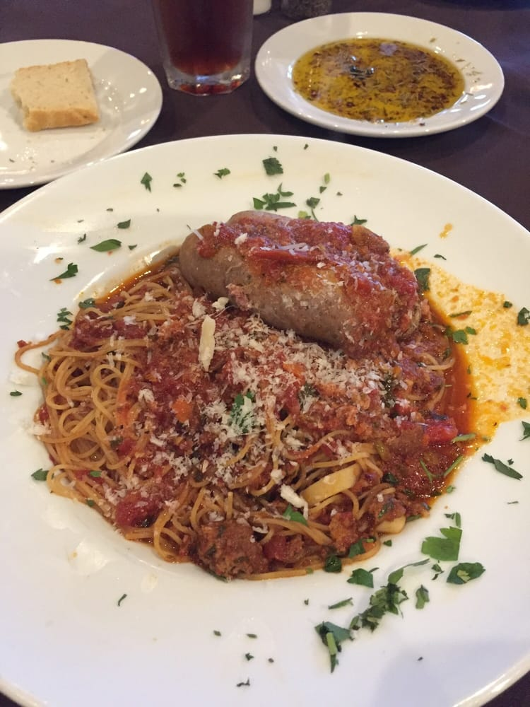 Angel Hair Pasta With Meat Sauce Yelp