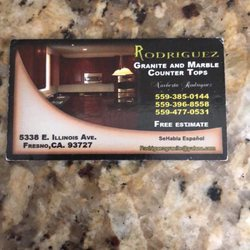 Photo Of Rodriguez Granite And Marble Counter Tops Fresno Ca United States