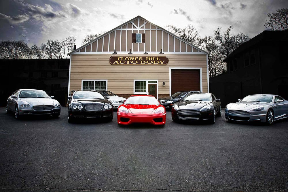 Flower Hill Auto Body Inc: 12 Middleneck Rd, Roslyn, NY