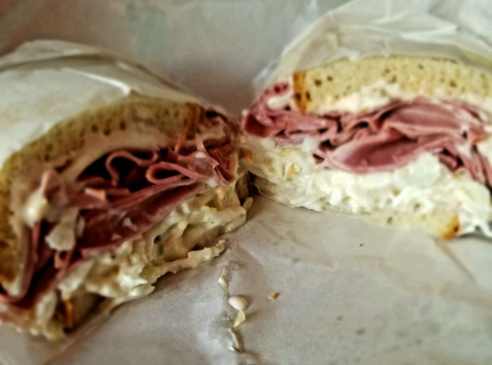 Food from Mt. Airy Deli
