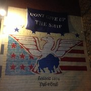Founding Fathers Pub - Buffalo, NY, United States. Don't give up the ship.