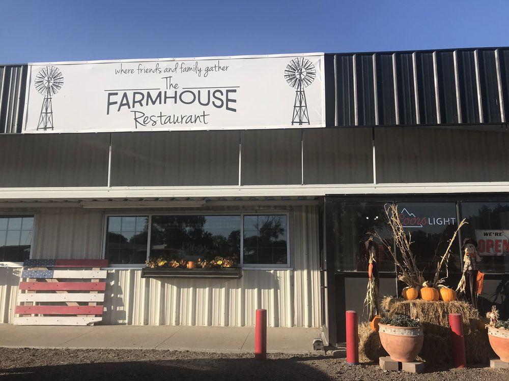 The Farmhouse: 1685 US 40, Sharon Springs, KS