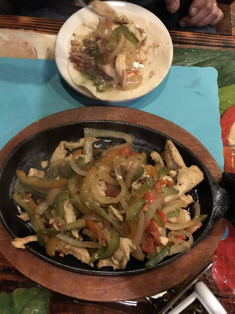 Food from El Rancho Mexican Restaurant