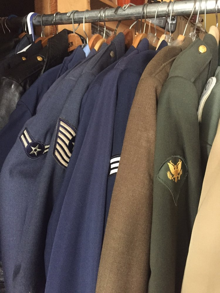 We Have An Extensive Collection Of Military Uniforms From
