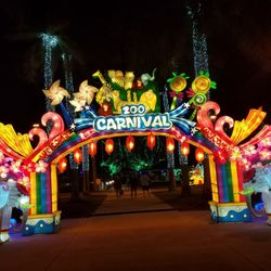 photo of chinese lantern festival lauderhill fl united states entrance to the