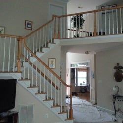 Photo Of Capital Stair Makeover   Raleigh, NC, United States. Before