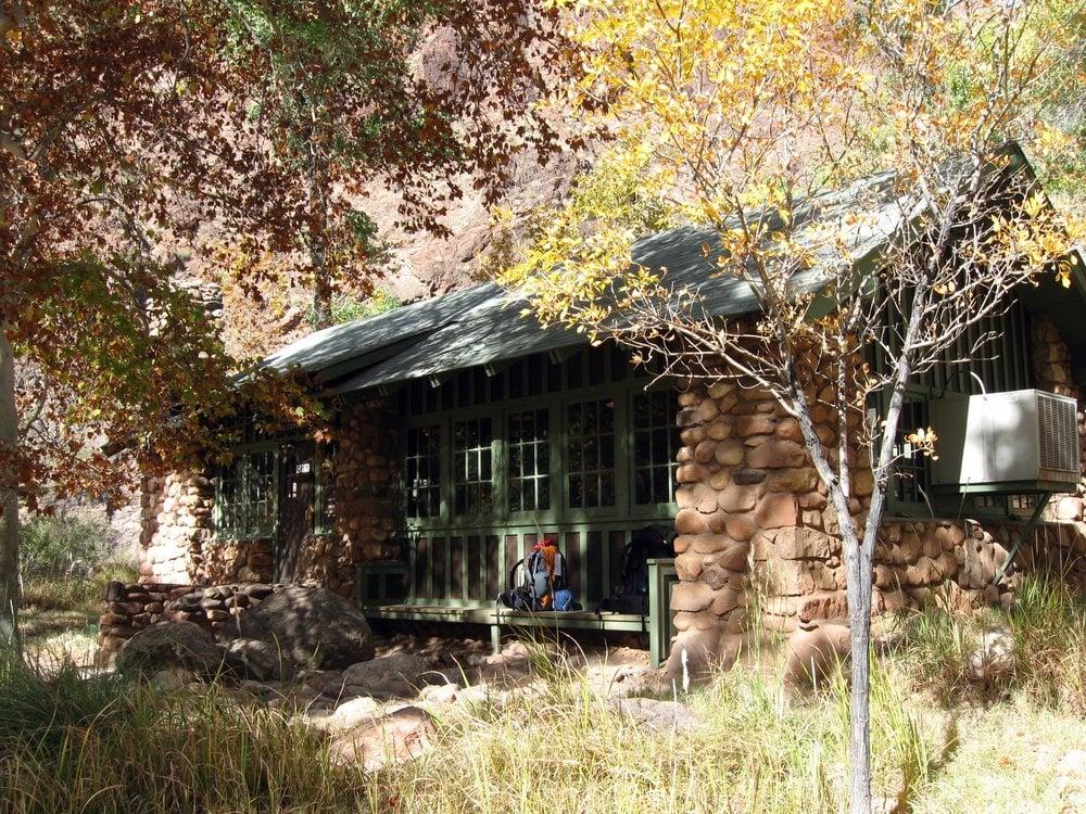 The Canteen Dining Hall At Phantom Ranch Grand Canyon