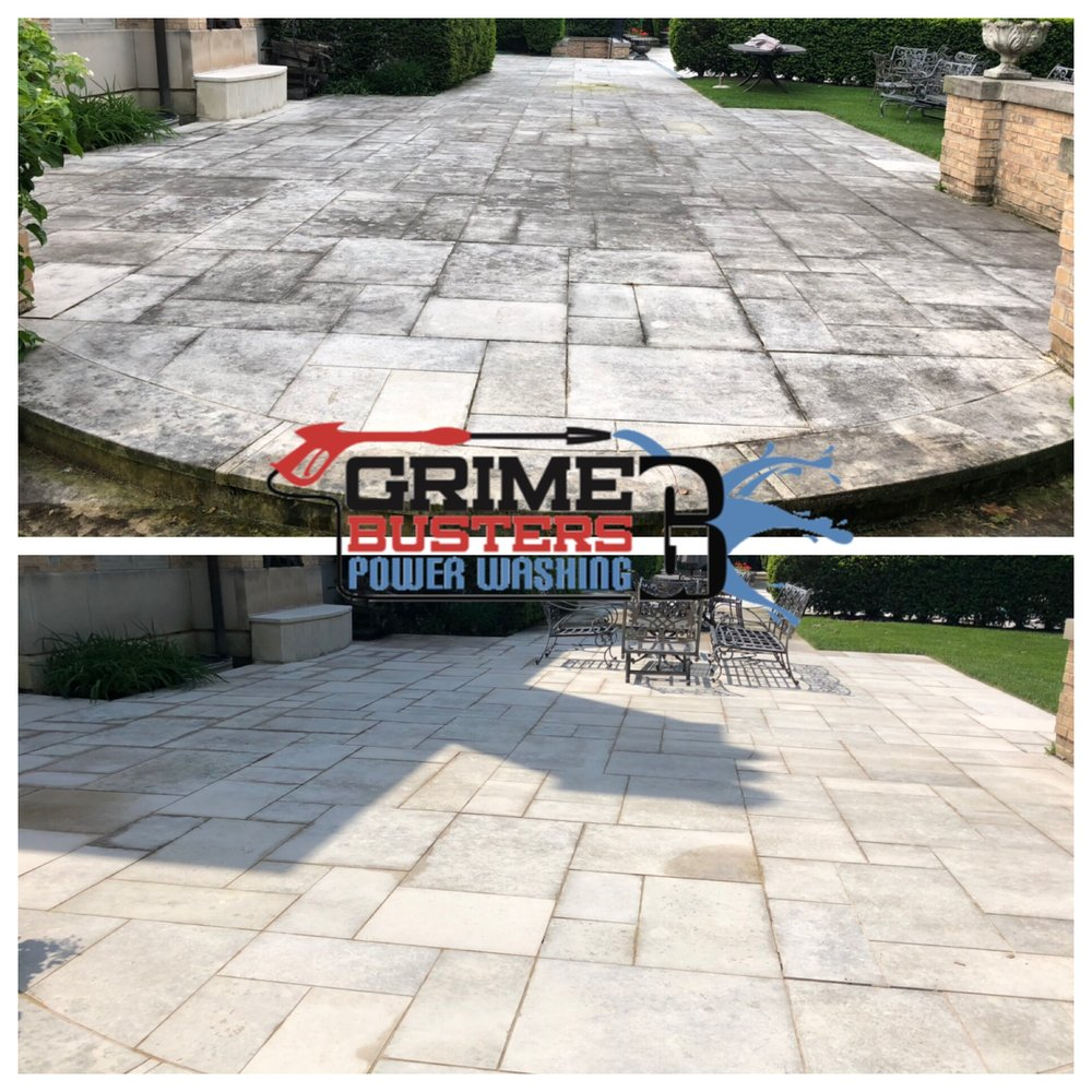 Grime-Busters Power Washing: 175 Willow Rd, Ingleside, IL