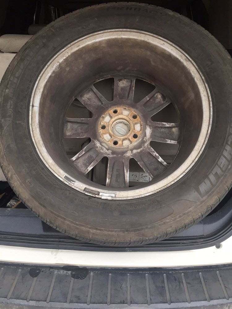 This Is The Cracked Rim Before Repair View Yelp