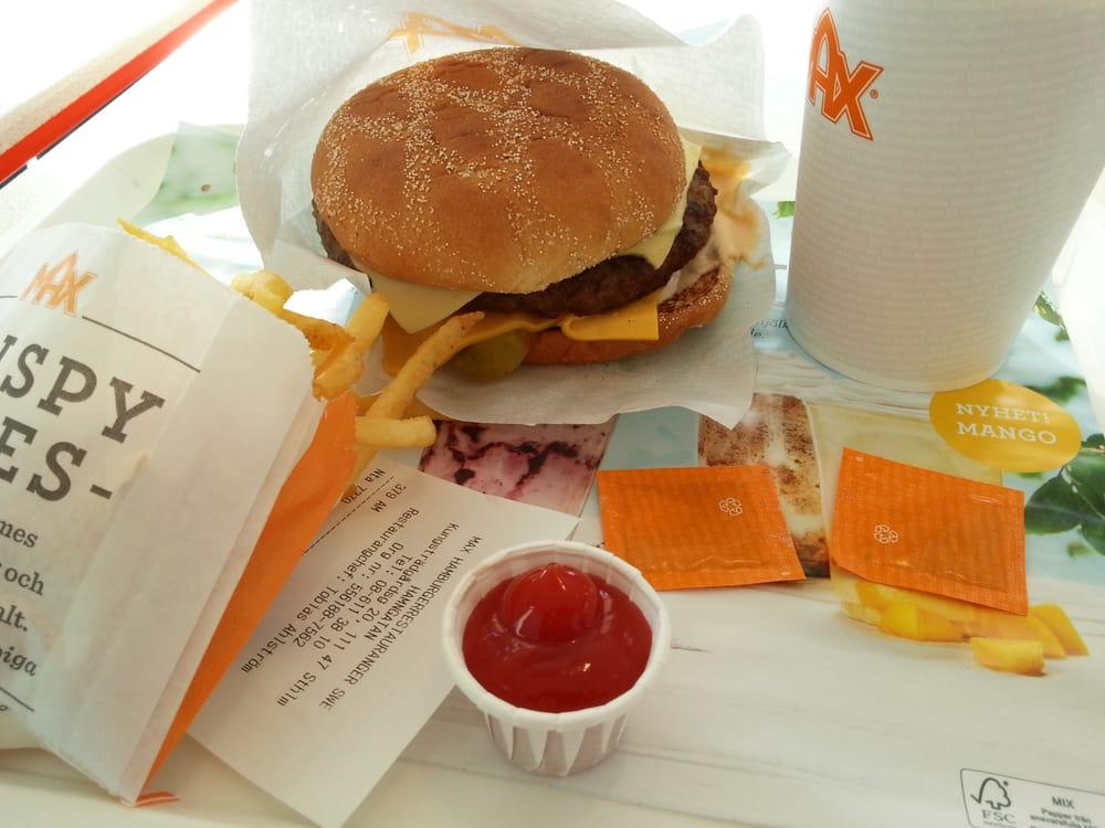 max hamburgare stockholm