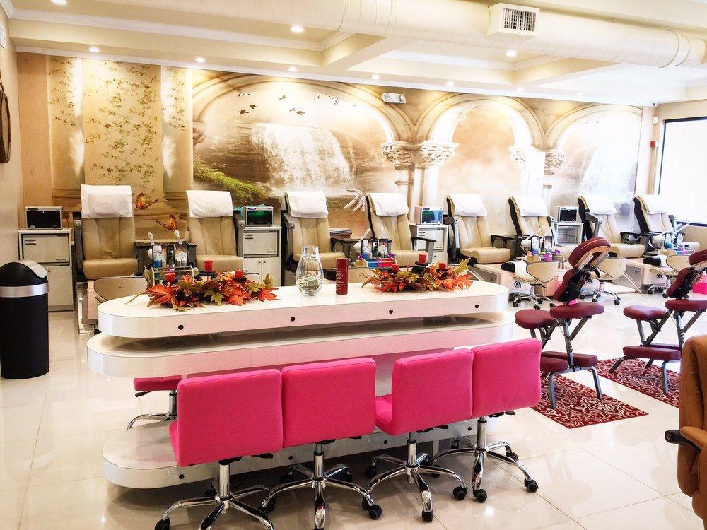 J j nail salon spa 60 photos 57 reviews nail for Admiral nail salon