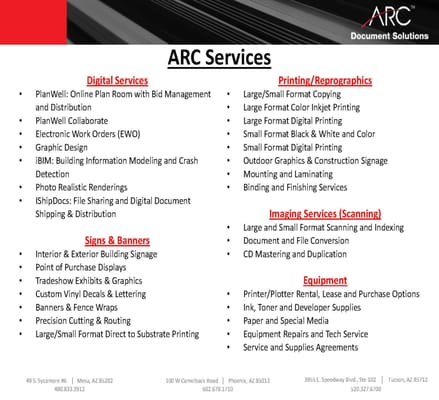 Arc document solutions 100 w camelback rd phoenix az copying arc document solutions 100 w camelback rd phoenix az copying services mapquest malvernweather Images