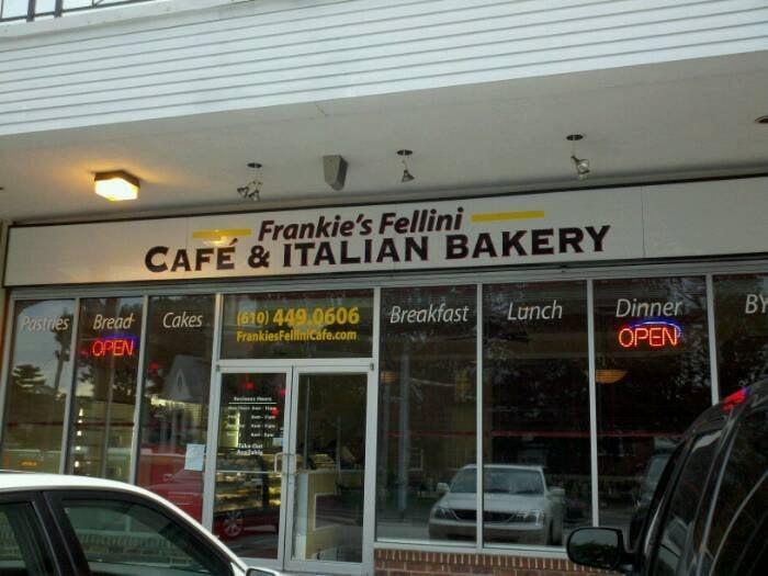 Frankie Fellini S Cafe Bakery Drexel Hill Pa