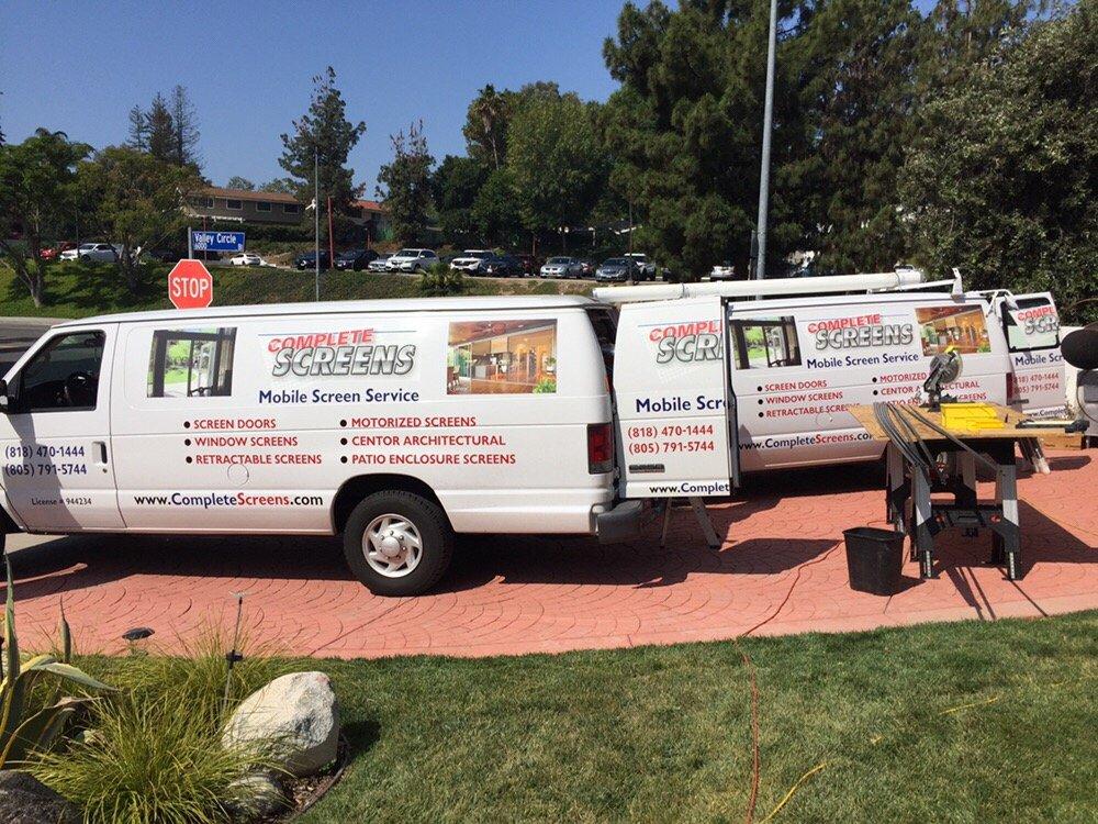 Complete Screens: Thousand Oaks, CA