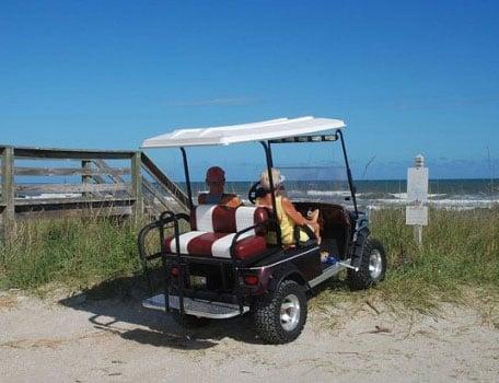 Golf Cart Rentals At Holden Beach