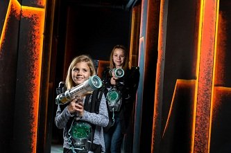 Laser Quest: 2120 N Woodlawn St, Wichita, KS