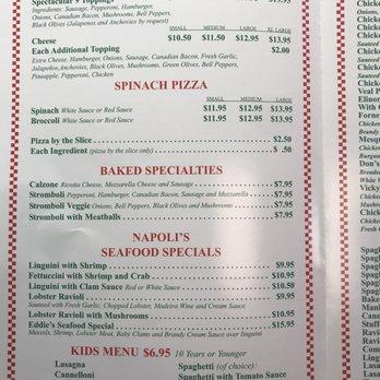 Eddie S Napoli S Italian Restaurant