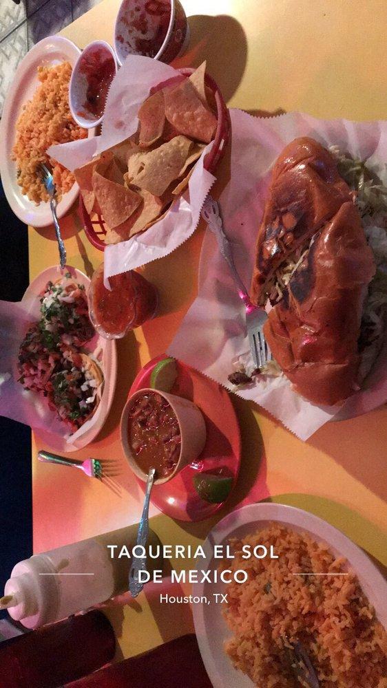 Taqueria El Sol De Mexico: 1521 Wayside Dr, Houston, TX