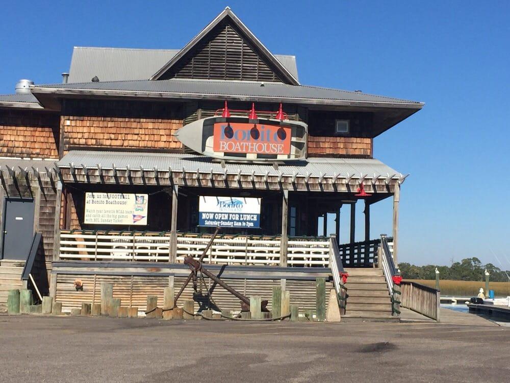 Photo Of Fripp Island Marina Saint Helena Sc United States Bonitos Restaurant