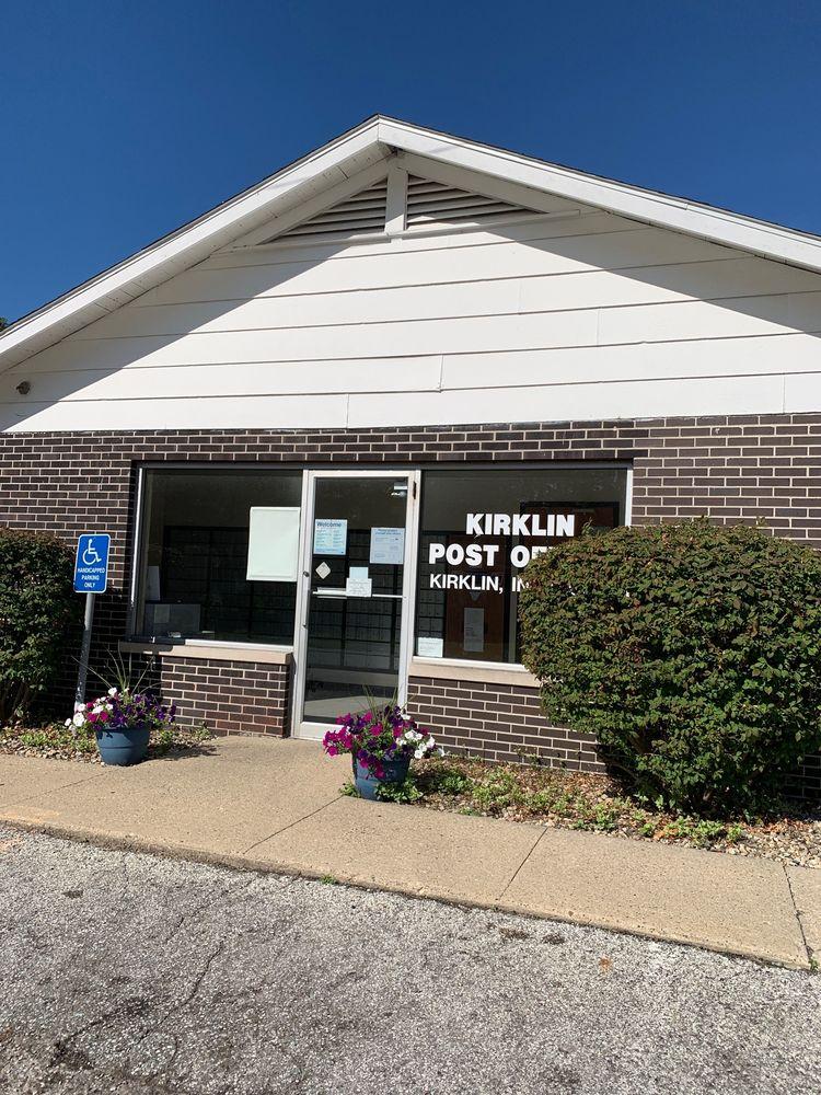 United States Postal Service: 102 S Ohio St, Kirklin, IN