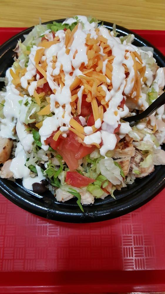 Chicken Kitchen Chop Chop mexican chop chop with extra chicken - yelp