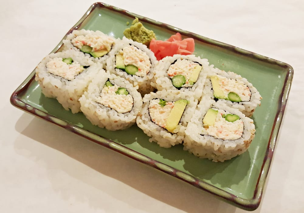 Snow Crab Roll with Snow Crab, Avocado and Asparagus - Yelp