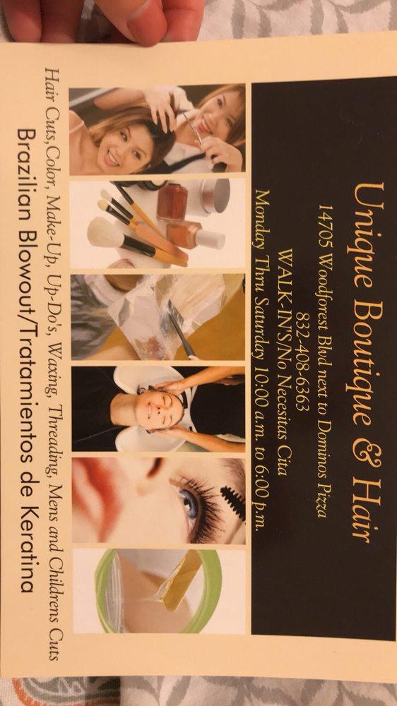 Unique Boutique & Hair-Channelview: 14705 Woodforest Blvd, Houston, TX