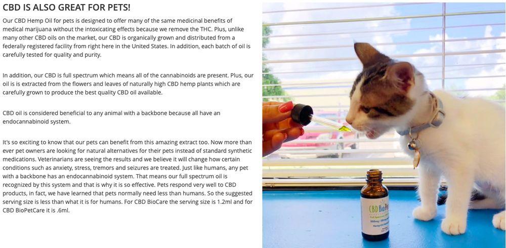 CBD BioCare - Vitamins & Supplements - 1107 E Concorda Dr