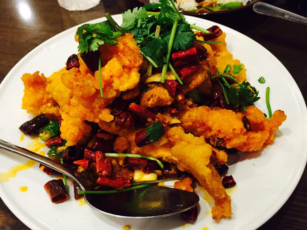 No 79 a spicy fish dish slightly fried yelp for Fish dish menu