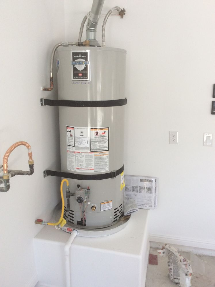 Water Heater Installed Up To Code Yelp