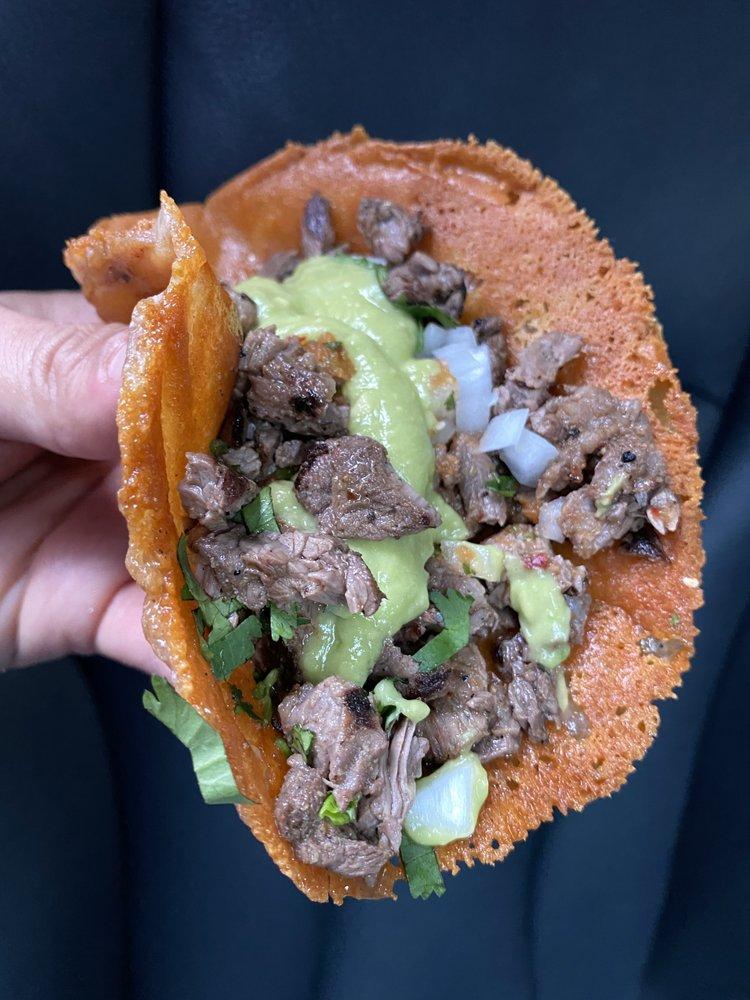 Food from Los Tacos No. 1