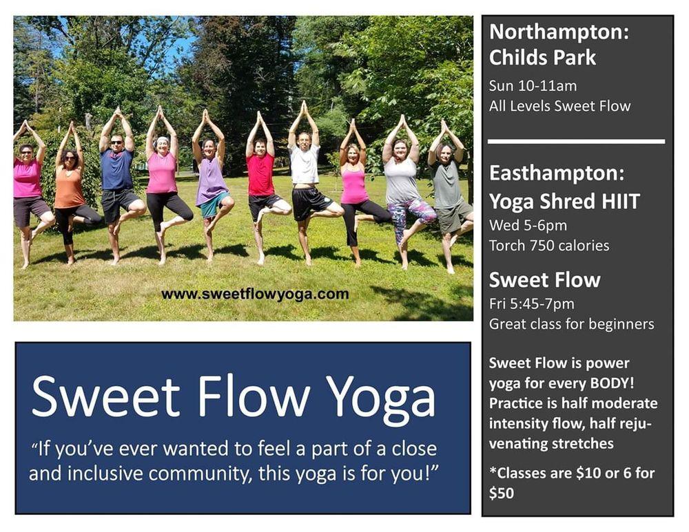Sweet Flow Yoga: 86 Holyoke St, Easthampton, MA