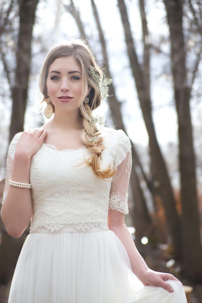 Modest Wedding Dress Rental located in Utah! Dress: Elsie+Ava - Yelp