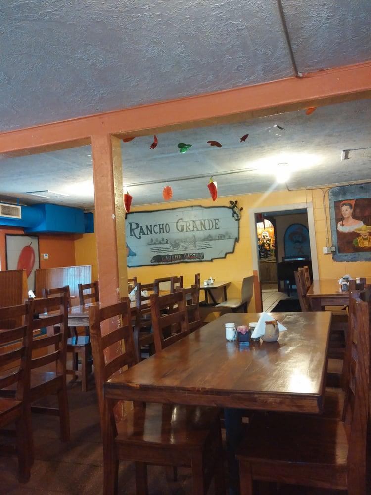 Rancho Grande Mexican Restaurant Menu