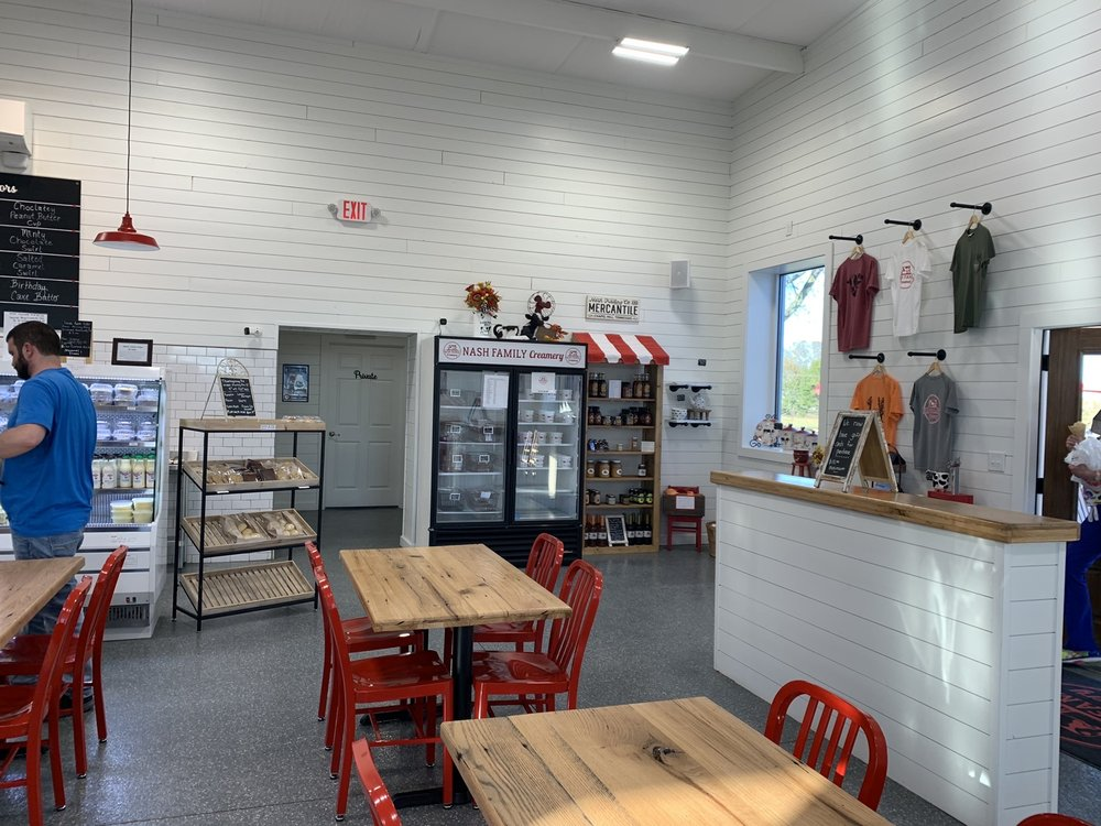 Nash Family Creamery: 4019 Hwy 41Alt North, Chapel Hill, TN