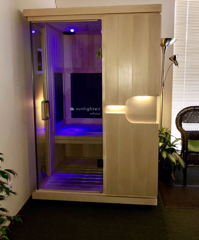 Our Infrared Sunlighten Sauna Yelp
