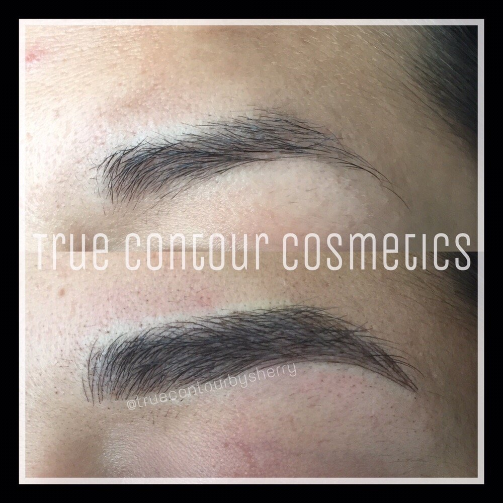 3d Hair Strokes San Diego Permanent Makeup Eyebrow Tattoo In