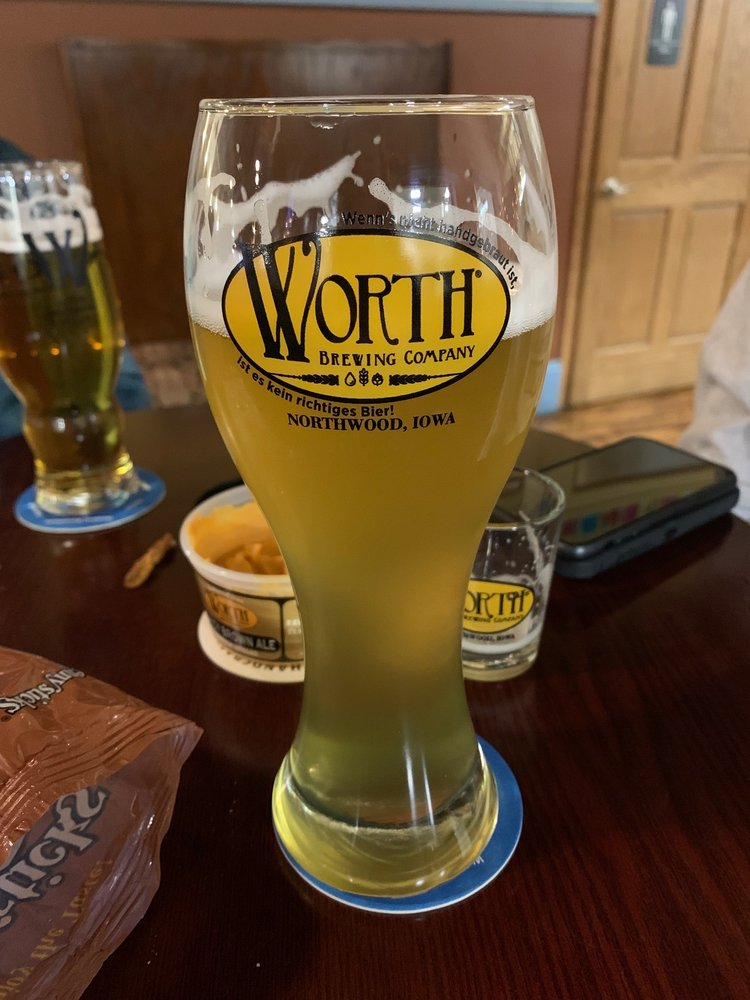 Worth Brewing Company: 835 Central Ave, Northwood, IA