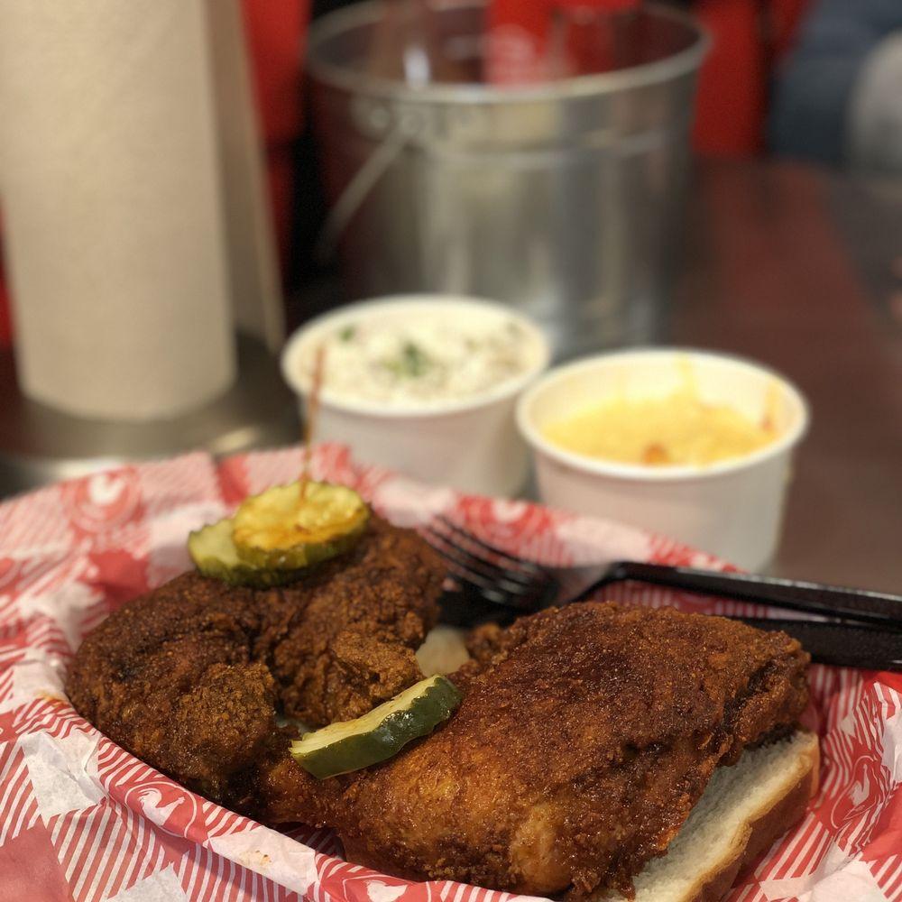 Food from Hattie B's Hot Chicken - Nashville