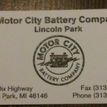 Photo Of Motor City Battery Company Lincoln Park Mi United States Car