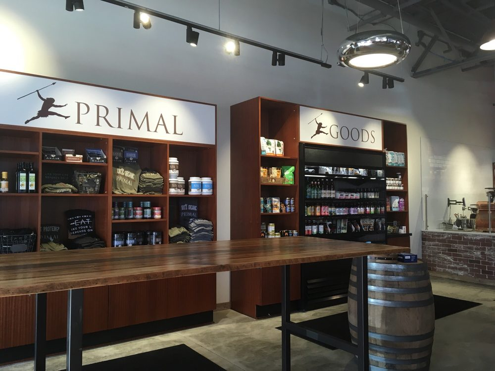 Nice grab and go section yelp for Primal kitchen restaurant