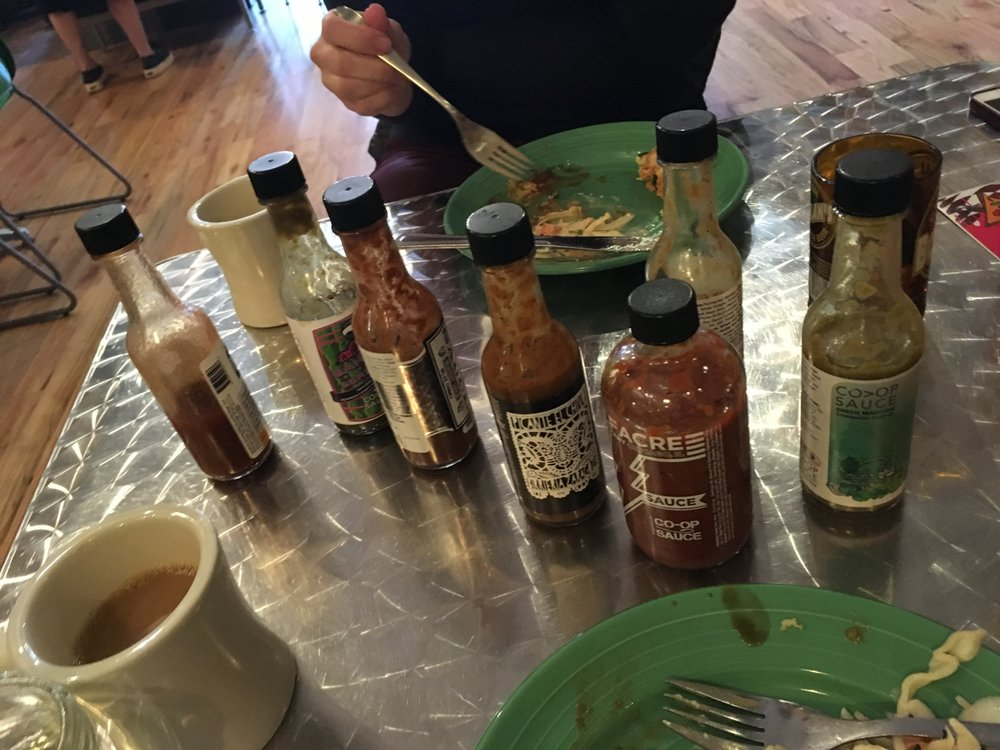 Try All The Hot Sauces Yelp