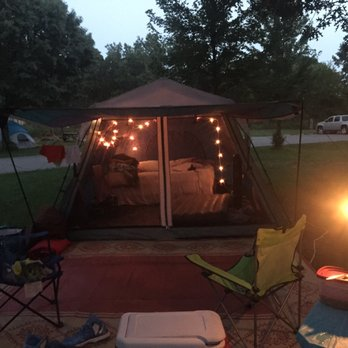 Photo Of Illinois Beach State Park Zion Il United States Out Tent
