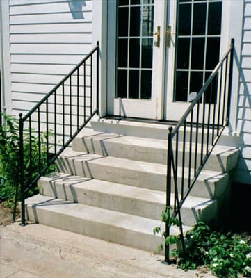 Pre Cast Concrete Step Company Building Supplies 7900